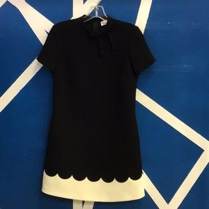 Black Valentino dress